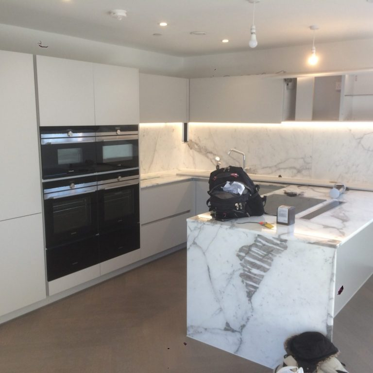Kitchen refurbishment in Chelsea